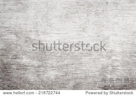 村木头褪色的白漆木纹纹理