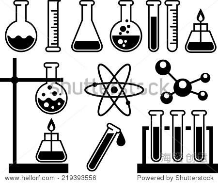 化学实验室设备——试管,烧瓶和测量玻璃