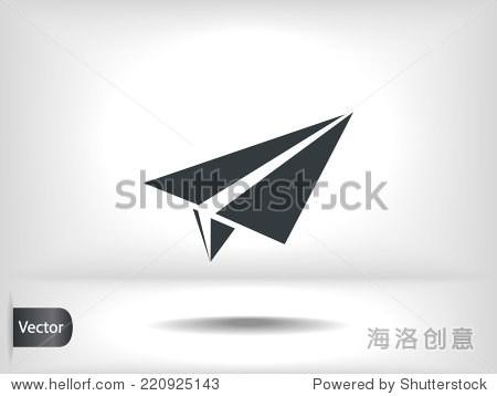 纸飞机图标 - 科技,符号/标志 - 站酷海洛创意正版