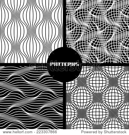 向量的几何线性无缝模式.打印背景集合