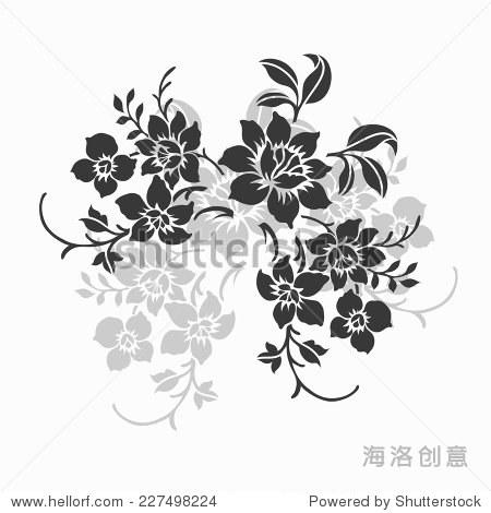 花卉图案设计 - 艺术,抽象 - 站酷海洛创意正版图片-原创抽象线条几何