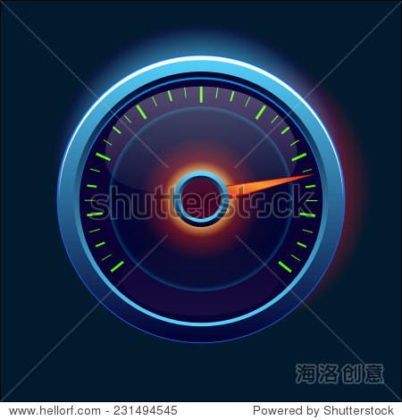 汽车速度表和仪表板 - 科技,符号/标志 - 站酷海洛,,.