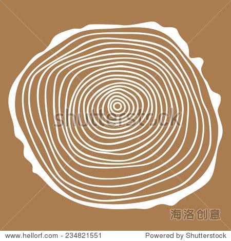 树木木头背景边框