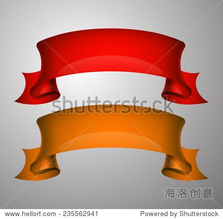 设计形状折纸横幅-背景/素材,复古风格-海洛创意正版