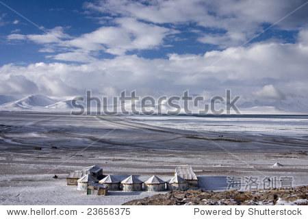 Namtso Lake at Tibet of China