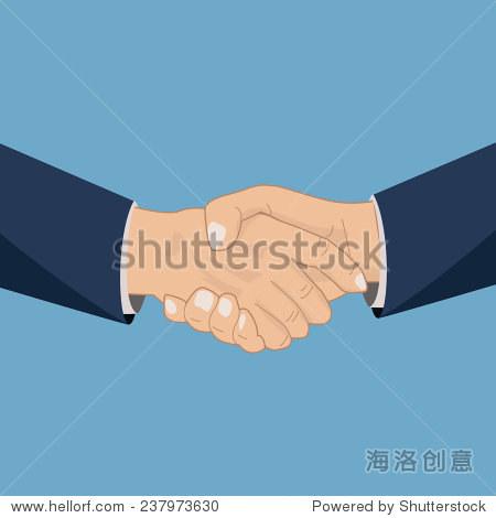 握手图标,矢量图-商业/金融,人物-海洛创意正版图片