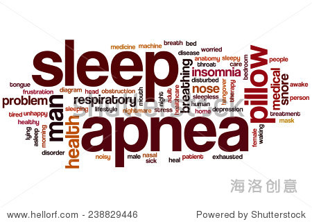 insomnia歌词_sleep apnea word cloud concept with insomnia snore related tags