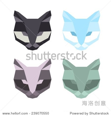折纸风格. - 动物/野生