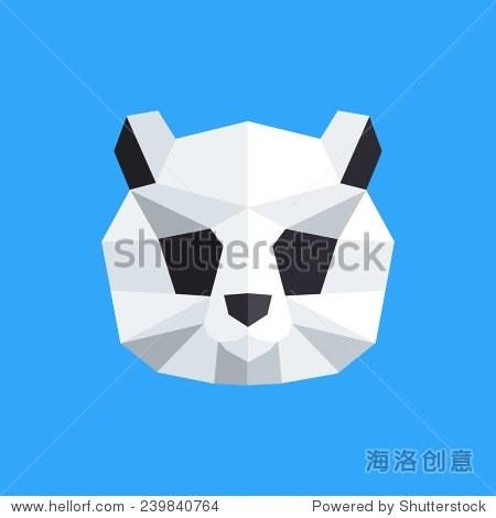 折纸风格. - 动物