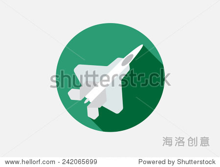 飞机或飞机图标极小的矢量剪影