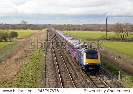 :第一大西部运营HST头向速度2月24日,伦敦20