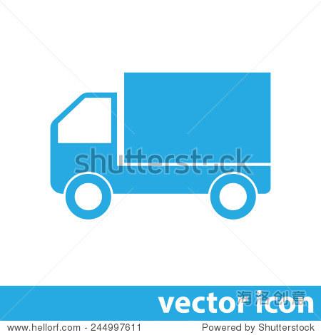 卡车矢量图标