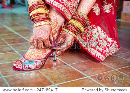 henna mehndi wedding design图片