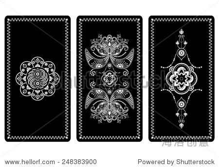 塔罗牌的矢量插图设计 - 背景/素材,其它 - 站酷海洛