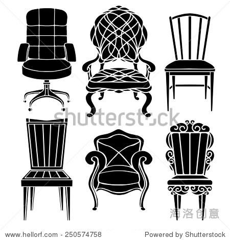 家具 设计 矢量 矢量图 素材 椅 椅子 450_470