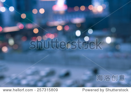 abstract blur background of car parking shallow depth of focus