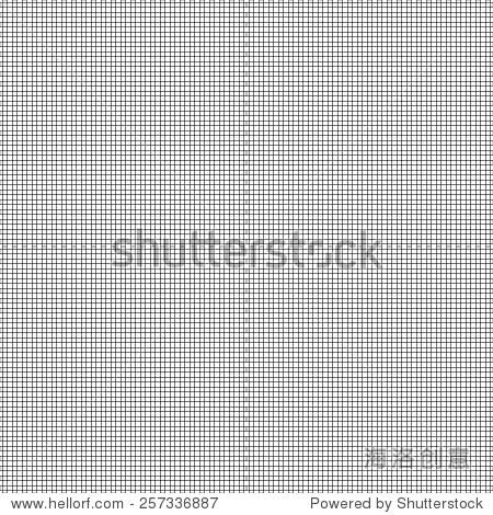 黑色和白色背景网格模式.矢量插图.
