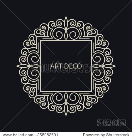 字母組合標志圖形設計.強調復古商業聯盟奸情房子和年份的概念.