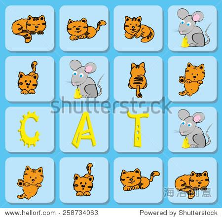 手工猫捉老鼠折纸大全图解