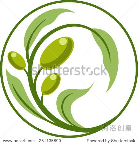 橄榄树象征 - 自然,符号/标志 - 站酷海洛创意正版