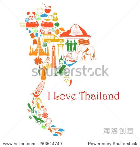 泰国邦波县地图