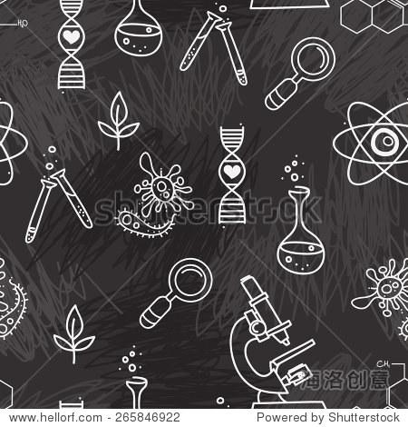 矢量图,手绘涂鸦风格-背景/素材
