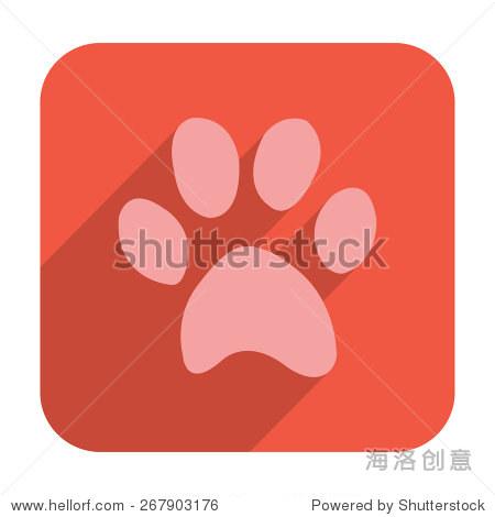 猫爪图标 - 动物/野生生物,符号/标志 - 站酷海洛创意