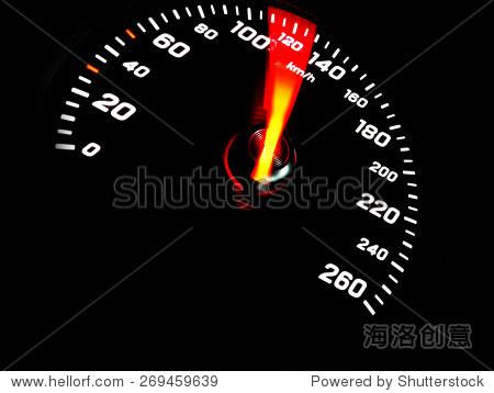 汽车速度表