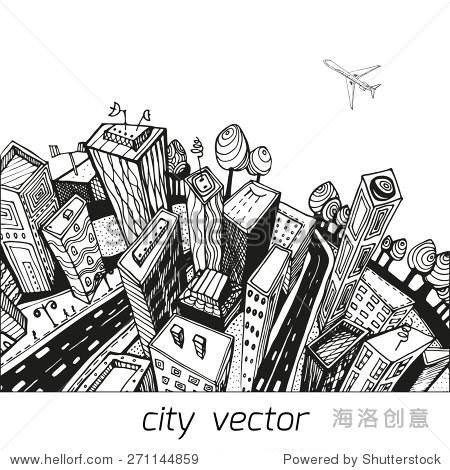 城市的不寻常的角度来看