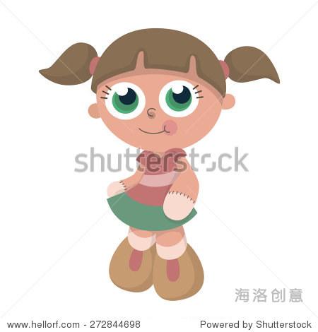 可爱的娃娃玩具