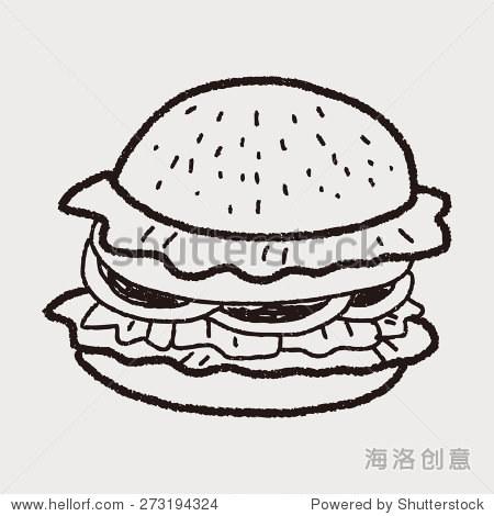 简笔画 手绘 线稿 450_470