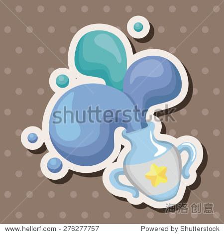 aquarius_constellation aquarius , cartoon sticker icon