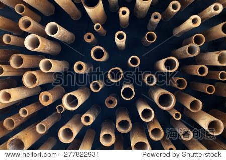 削减视频,剩磁的横截面-竹子/素材,抽象-海洛创法背景竹子图片