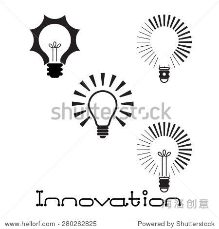 创新的概念.矢量图