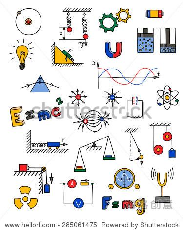 矢量图 - 教育,科学