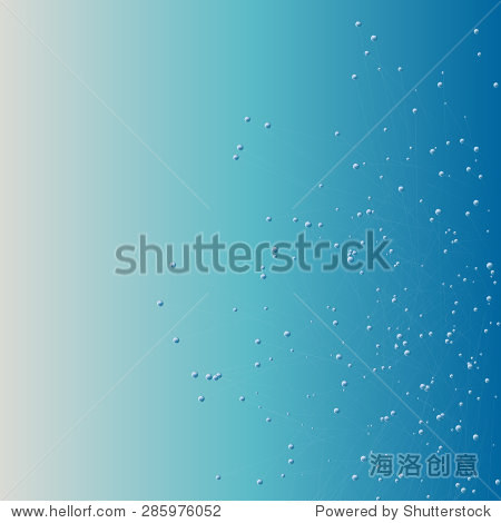 青绿色背景,泡沫