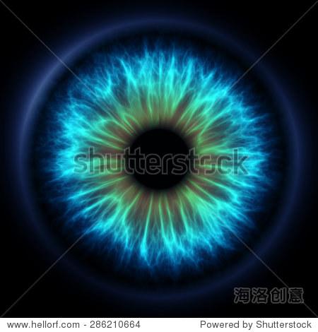 数字的眼睛-科技,抽象-海洛创意正版图片,视频,音乐-.图片