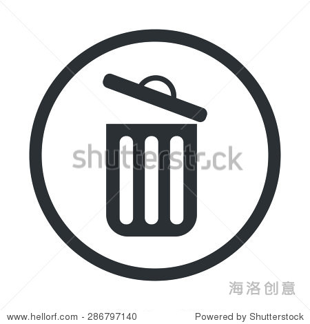 说明商业和金融图标垃圾桶 - 符号/标志,其它 - 站酷