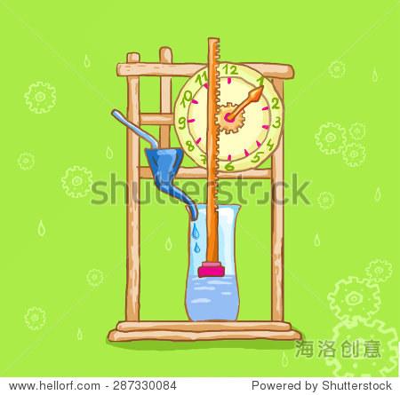 小学生科学制作水钟