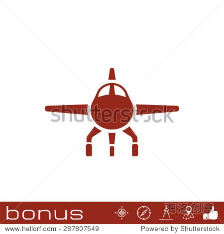 飞机图标符号