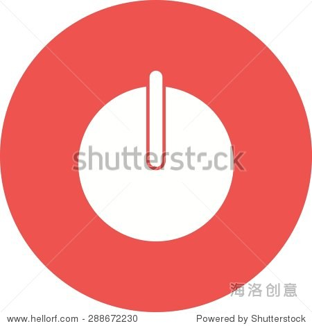 power start switch icon vector image. can also be