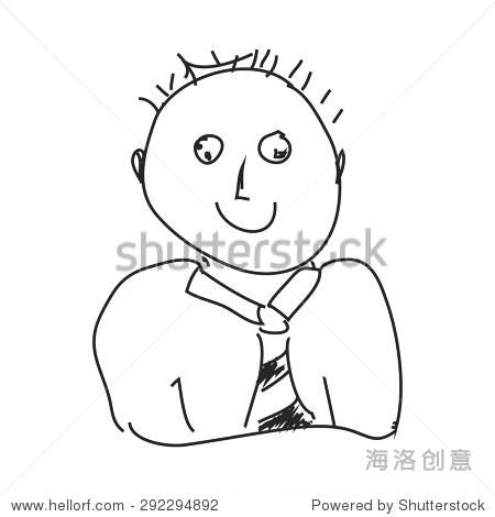 一个人的简单手绘涂鸦 - 符号/标志,其它 - 站酷海洛