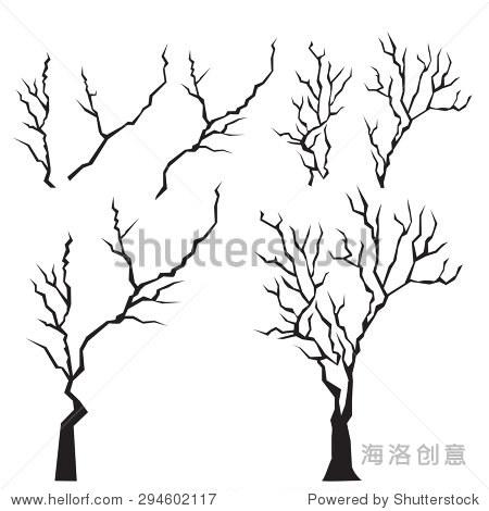 树枝简笔画图片大全