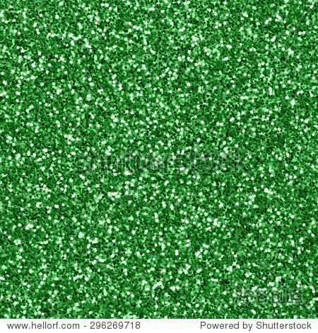 green glitter background. seamless texture