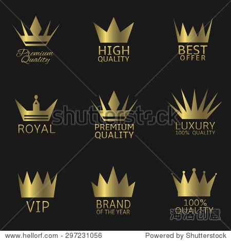 优质 最佳报价,奢侈,皇家贵宾 矢量图 商业 金融,符号 标志 站高清图片