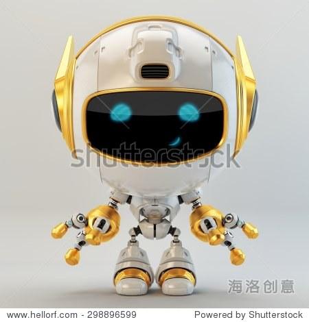 机器人宠物与金元素
