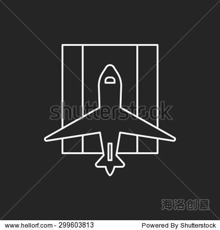 飞机行图标