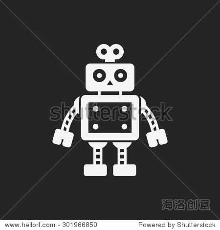 機器人圖標