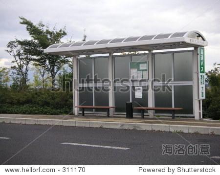 日本公共汽车站
