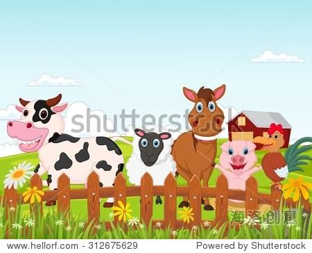 开心农场动物卡通系列
